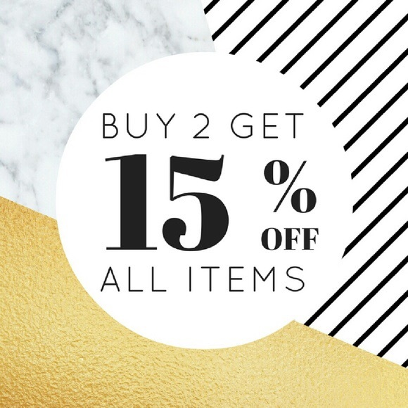 Other - Instant 15% OFF with Bundles of 2 or More!
